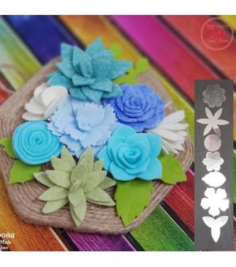 Art 23 Flower Template