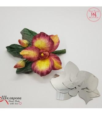 Art 104 Orchid Flower Template