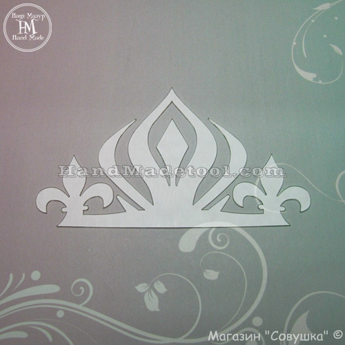 """Art 678 """"The crown"""" template"""