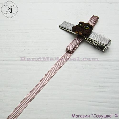 Reps ribbon 0,5-0,6 cm width colour 17-powder