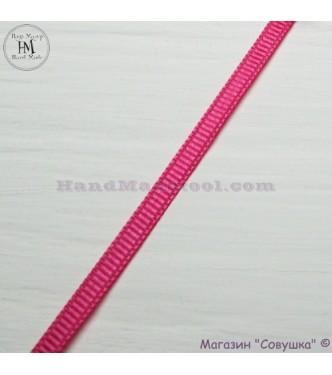 Reps ribbon 0,5-0,6 cm width colour 22-dark crimson
