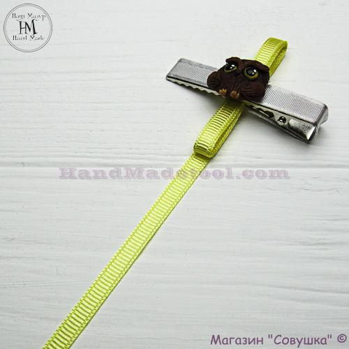 Reps ribbon 0,5-0,6 cm width, colour 82-yellow.