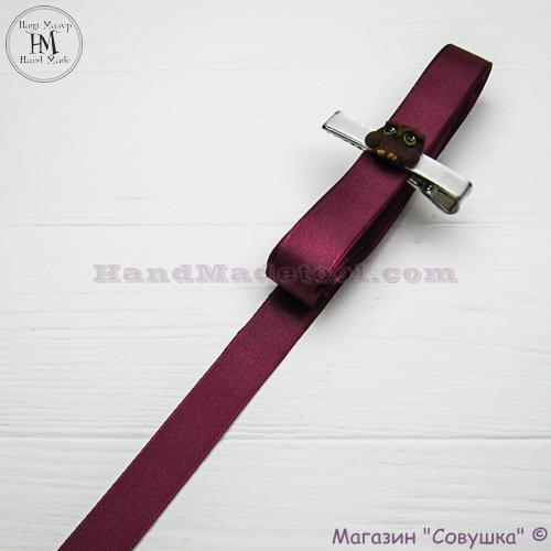Reps ribbon 2 cm width colour 56-bordeaux