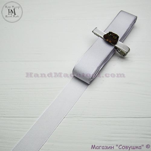 Reps ribbon 2,5 cm width colour 01-white