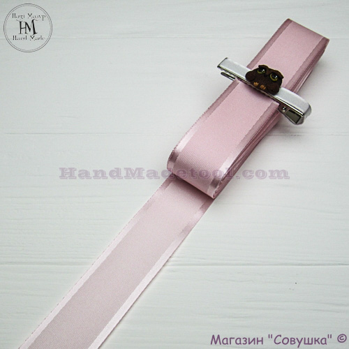 Silk ribbon with a satin edge 3 cm width colour 16-light pink