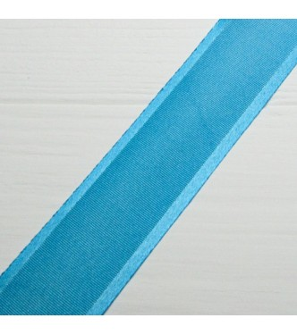 Silk ribbon with a satin edge 3 cm width colour 67-dark blue