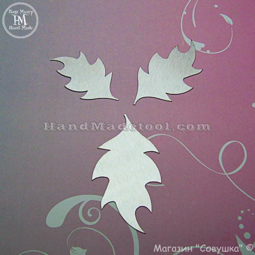 Art 107 Leaf Template