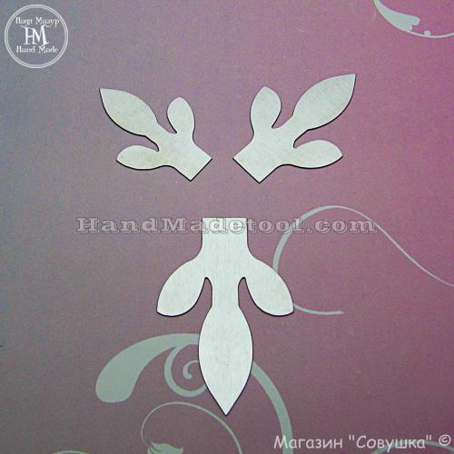 Art.117. Leaf Template.