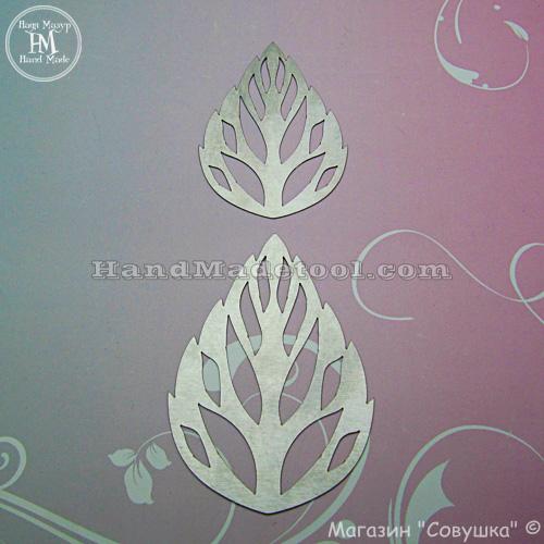 Art.139. Leaf Template