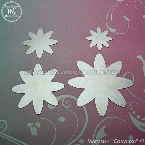 Art 27 Flower Template