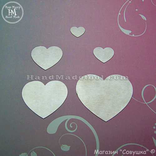 Art 504 Hearts Template