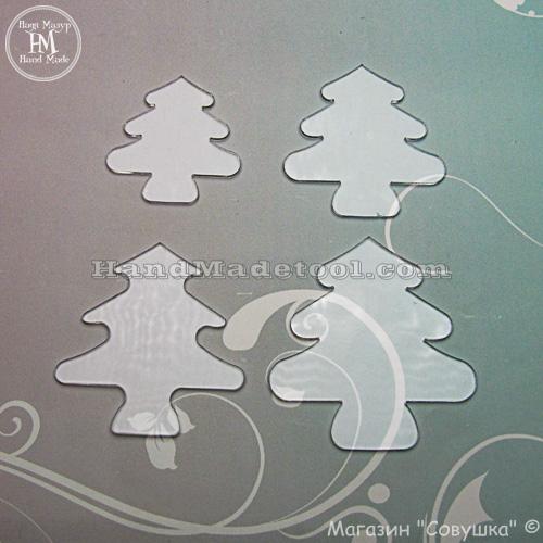 """Art 577 Set of templates """"Fir-tree"""""""