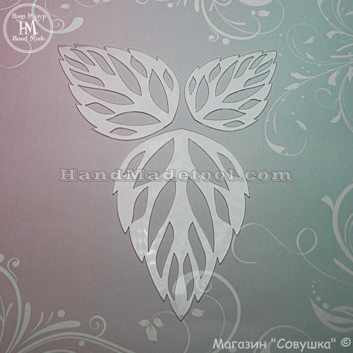 """Art 585 """"Leaf"""" Template"""