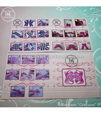 "Art 603 Set of templates ""American bow"""