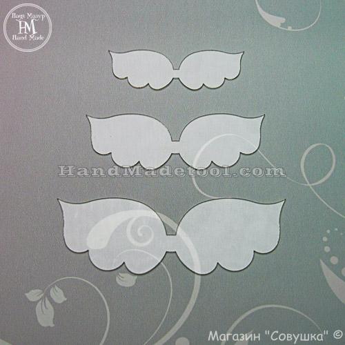 "Art 653 Set of ""wings"" templates"