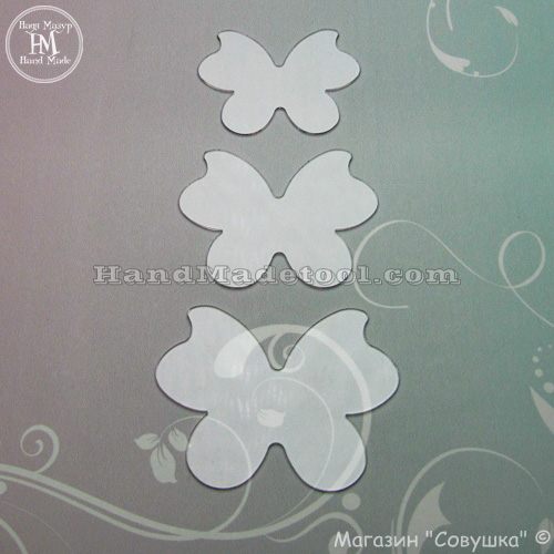 Art 659 Set of templates Butterfly