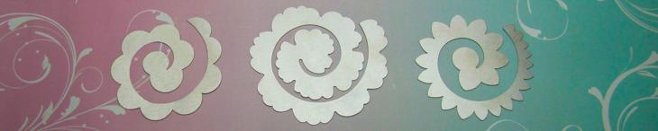"""Spiral"" metal templates"
